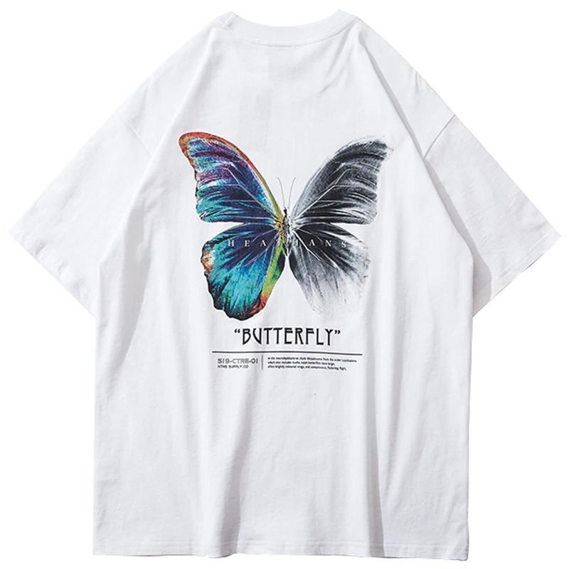 """Fashion tričko """"Butterfly"""" bílé"""
