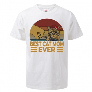 "Tričko Kočky ""Best Cat Mom Ever"""